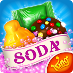Candy Crush Soda Saga v 1.156.3 Hack MOD APK (100 plus moves / Unlocked)
