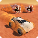 Desert Worms v 1.52 Hack MOD APK (Open all levels and cars / No advertising)