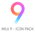 MIUI 9 Icon Pack v 1.0.1 APK patched