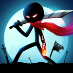 Stickman Ghost Ninja Warrior Action Game Offline v 1.9 Hack MOD APK (Money)