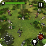 Amazon Jungle Sniper: Survival Game v 1.1 APK + Hack MOD (Not hungry / thirsty)