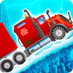 Ice Road Truck Driving Race v 3.46 Hack MOD APK (Money)