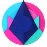 Unicorn Dark Icon Pack 5.5 APK Patched