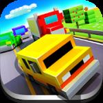 Blocky Highway Traffic Racing v 2.0 Hack MOD APK (money)