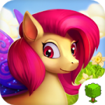 Fairy Farm – Games for Girls v 3.0.3 Hack MOD APK (a lot of coins, crystals, energy)