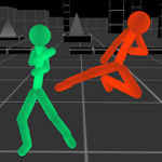Stickman Fighting: Neon Warriors v 1.07 Hack MOD APK (Free Shopping)