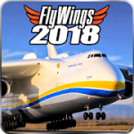 Flight Simulator 2018 FlyWings Free v 2.2.2 Hack MOD APK (Unlocked)