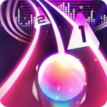 Infinity Run Rush Balls On Rhythm Roller Coaster v 1.7.7 Hack MOD APK (Money)
