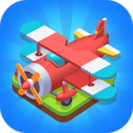 Merge Plane – Click & Idle Tycoon v 1.13.7 Hack MOD APK (Unlimited Gems / Vip)