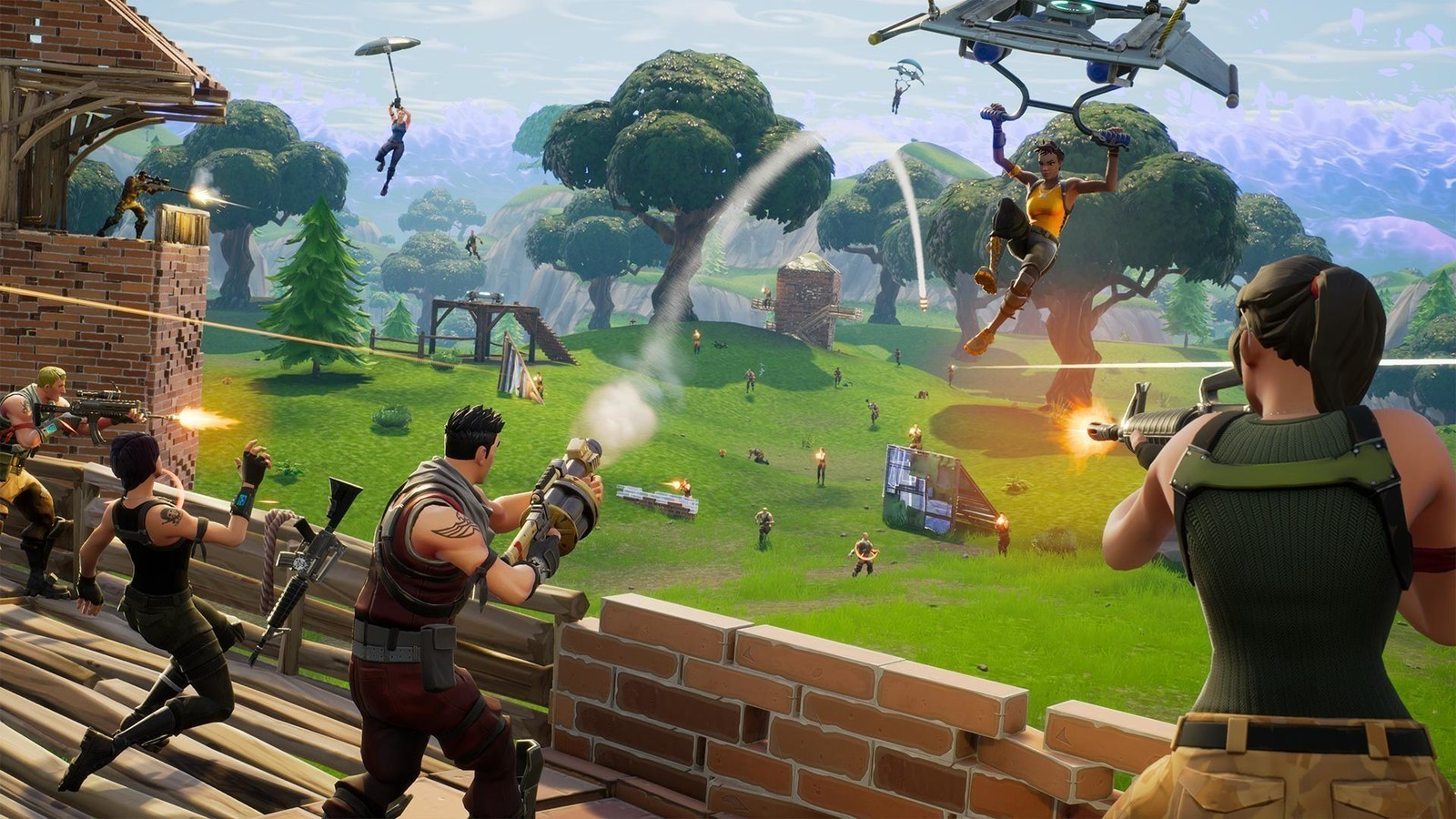 Fortnite Androidcentral Screen