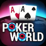 Poker World – Offline Texas Holdem v 1.5.10 Hack MOD APK (Unlimited Chips / Infinite Tickets)