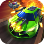 Road Rampage Racing & Shooting to Revenge v 4.1.1 Hack MOD APK (UNLIMITED GOLD / COINS / DIAMONDS / FUEL)