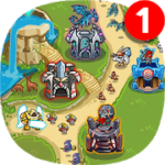 Kingdom Defense The War of Empires (TD Defense) v 1.3.5 Hack MOD APK (Infinite gems / stars)