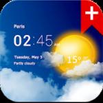 Transparent clock weather 1.99.01 APK Paid