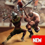 Gladiator Heroes Clash Fighting and Strategy Game v 3.1.3 Hack MOD APK (Click Speed ​​X2/anti ban)