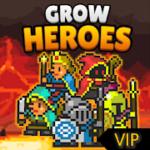 Grow Heroes Vip Idle RPG v 5.7 hack mod apk (Unlimited Gold / Gems / Bones / Ad-Free)