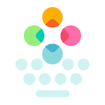 Fleksy Fast Keyboard Stickers, GIFs & Emojis vVaries with device
