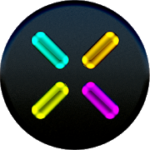 EXA Neon Icon Pack v 4.1 APK Paid