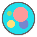 Flat Circle Icon Pack v 2.6 APK Patched