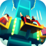 Theme Park Clicker Idle Craft. Roller Coaster Inc v 1.17 hack mod apk (Unlimited gold coins / Cash / prestige points)