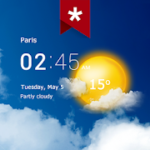 Transparent clock weather Ad-free v3.10.06 APK Subscribed