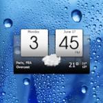 Digital clock & world weather Premium v 5.40.1 APK