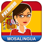Learn Spanish with MosaLingua v 10.42 APK Paid