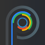PIXELATION Dark Pixel-inspired icons v 7.5 APK Paid