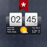 Sense Flip Clock & Weather Ad-free v 5.41.1 APK Paid