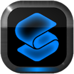 NEON BLUE Smart Launcher Theme 2.30 APK