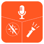 Voice Recorder Compass Flashlight (3 in 1) 1.0.2 APK Ads-Free