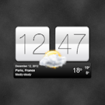 Sense V2 Flip Clock & Weather 5.76.1.5 Premium APK