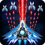 Space shooter Galaxy attack Galaxy shooter v 1.414  Hack mod apk (Infinite Diamonds / Cards / Medal)